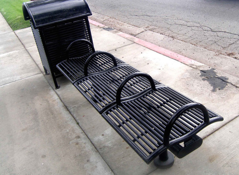 anti-homeless devices
